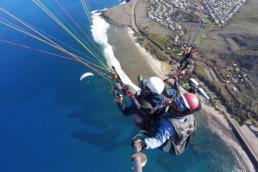 Vol bipalce en parapente à la Réunion, Kolim 45 par Solid'Air Parapente