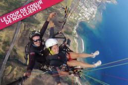 Vol en parapente à l'île de la Réunion, Kolim 60 par Solid'Air Parapente