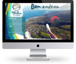 Bon cadeau pour un vol en parapente à la Réunion avec Solid'Air Parapente