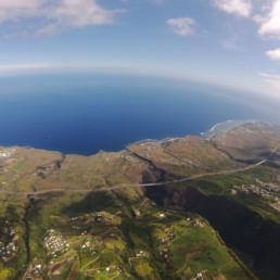 le climat de la Réunion et les vols en parapente